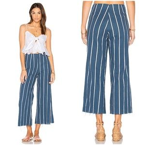 Faithfull The Brand Tomas Wide Leg Striped Pants